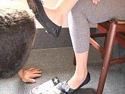 Mistress Lea Ballet Shoes and Slave