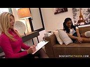 India Summer &amp_ Kira Noir Interracial Lesbian Sex