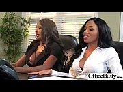 Busty Office Girl (anya diamond jade jasmine) Bang Hard Style At Work clip-03