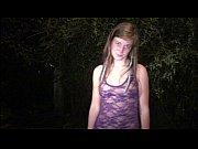 Cute teen Alexis Crystal AKA Anouk PUBLIC sex gangbang