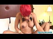redhead ebony tranny jerking off her.