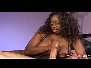 black beauty in mmf threesome