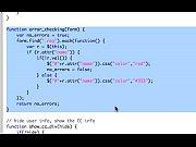 jQuery form validation - super easy