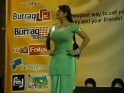 paki booby stage acctress saima khan shaking big.