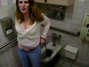 bathroom sneaking fun