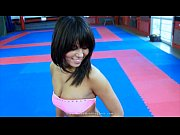 gorgeous melanie memphis wrestles and busting.