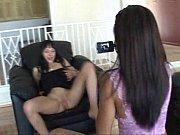 две молодые лезбиянки лижут киски