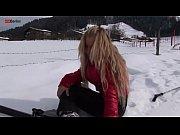Eroberlin Anna Safina russian blond girl ski austria open public