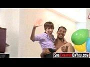 39 rich milfs blowing strippers at underground cfnm party!45