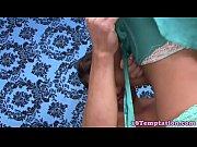 Stepdaughter giving taboo handjob