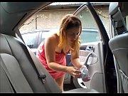 cachonda en auto