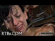 Мужик лапает девушку через лосины