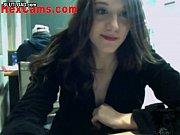 webcam girl masurbating in public