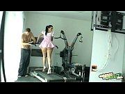 Sophie Dee y Nacho Vidal follando en el gimnasio - Full Scene