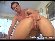 Busty Tera suck cock an...