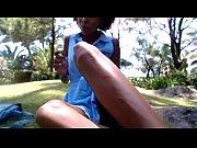 estrangeira mastruba-se em portugal no jardim do hotel www.garotasnuas.net