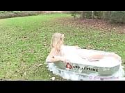 cali skye teen model bubble bath
