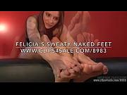 Felicia'_s Sweaty Naked Feet - (Dreamgirls in Socks)