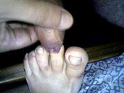 paja con los pies de mi mujer dormida 27