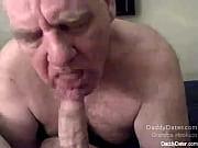 silverdaddies grandpa sucking uncut cock