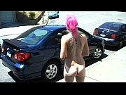 nude in san francisco: fushia walks naked all.