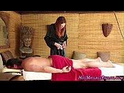 hot masseuse blow and cum
