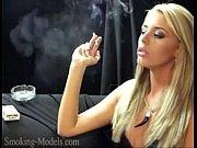 Sexy smoker
