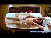 pussyfucked babe enjoys fucking her masseur