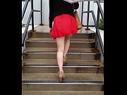 hot asian in a mini skirt.
