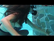 Diana Kalgotkina dildoing herself underwater