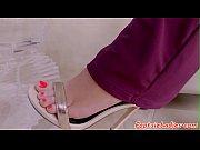 footfetish petite beauty gets toelicked