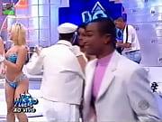 Delicious blonde dancing