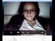 juana se marturba por skype.