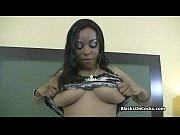 huge titty black amateur on cock