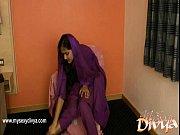divya yogesh pleases herself using her.