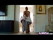 Big Wet Butt Girl (aj savannah) Love Hard Anal Bang On Cam clip-03
