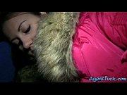 beautiful brunette babe liliya plowed with stranger for money