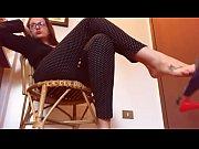 sexy dangling italiano: gioco con i miei sandali.
