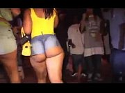 Big Booty Light-Skinned Chick Walking Down The Strip Mad At Dudes Touching Her Ass! - HoodTube.com -