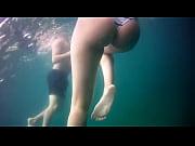 Gostosa pacot&atilde_o rabuda em baixo da agua HD