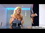 big tits sluty office worker girl perform hard.