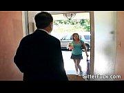 Babysitter fucked by her employer