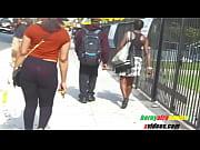 light skinned woman big booty sheer leggings red.