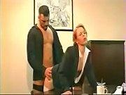 Cum On Clothes - Blonde Secretary Glasses White Stockings Black Heels Fucked On Desk-Cum On Her S