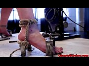 lezdom submissive handling sex machine