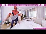 vrbangers.com spider-man: xxx parody with sexy teen gina gerson