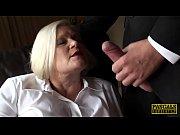 British GILF masturbating with dildo