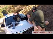 Hardcore police gang bang and fake cop fuck Russian Amateur Takes it