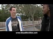 Black boys fuck white studs bareback style 22