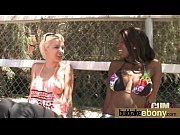 секс в блестящих чулках видео